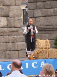 Mariano Valverde presentando la XIV Muestra