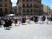 Actuación en Segovia-Baile Corrido